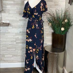 Sanctuary NWT XS Urban Woodlands Aria Maxi Dress